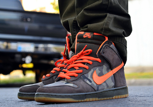 Nike Dunk High SB Brian Anderson - Chiva1908