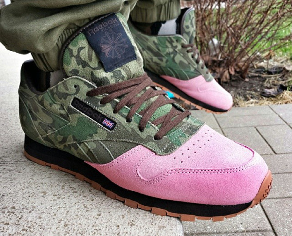 Reebok Classic Leather Flamingo At War - Laced_heat
