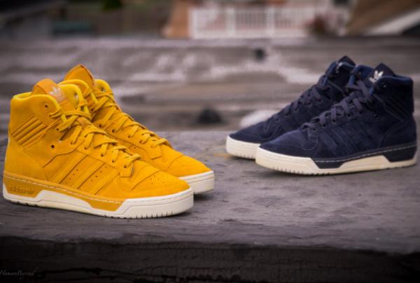 Adidas Rivalry Hi Suede