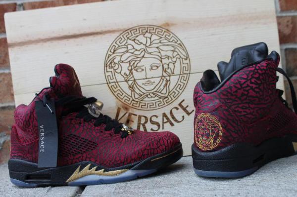 Versace Sneakers Jordans Air Jordan 5 3l...