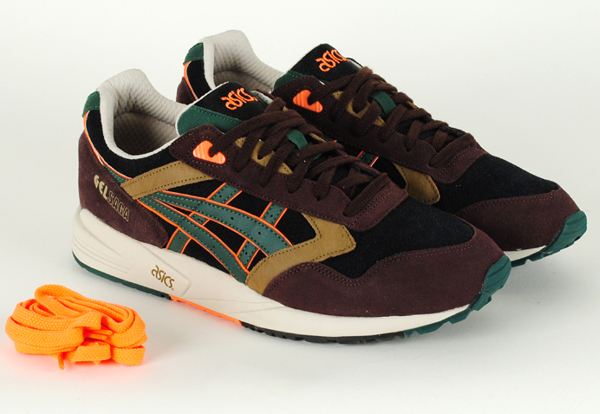 Asics Gel Saga Brown/Orange (camo)
