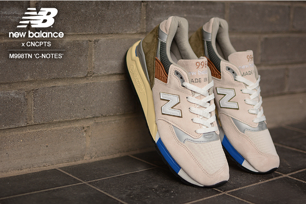 "New Balance 998 & Concepts ""C-Notes"""