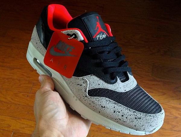 Swizzy Cement Air 1 Par J Max Bred Nike 0wPknO