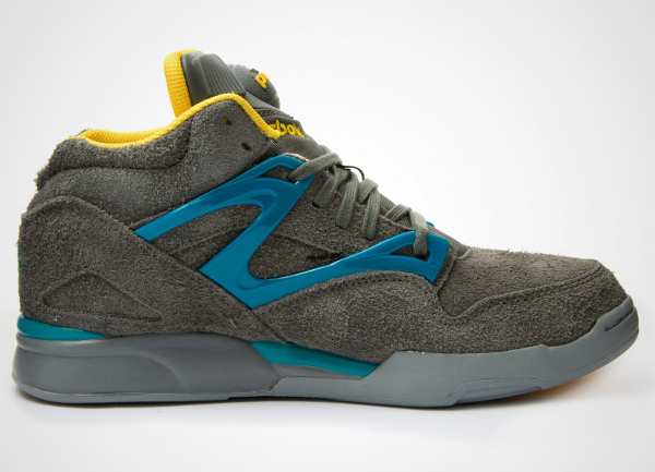Reebok Pump Omni Lite Grey/Yellow