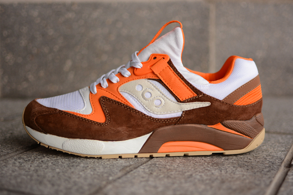 Saucony Grid 9000 White River