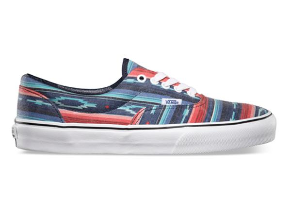 Vans Era Van Doren Multi Stripe/Blue