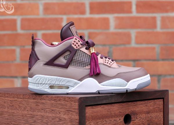 Air Jordan 4 Louis Vuitton Don x Kanye West wale