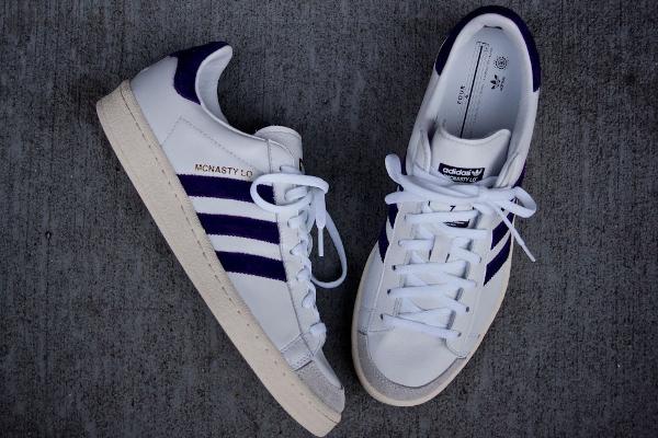 "Adidas Hook Shot ""McNasty"" Lo White/Purple"