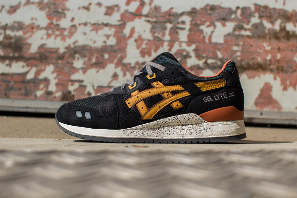 ... asics gel lyte 3 black tan