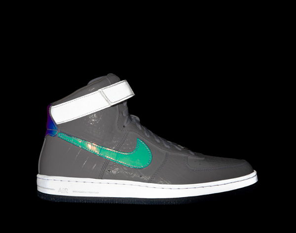 "Nike Air Force 1 Hi Downtown Space ""Hologram"""
