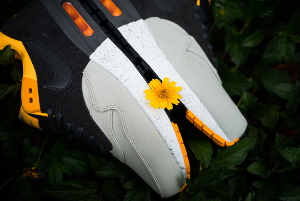 Nike Air Max 1 Premium Split Grey/Sunflower
