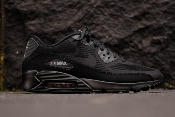 best website a28ab 962ae nike-air-max-90-prm-tape-reflective-black (
