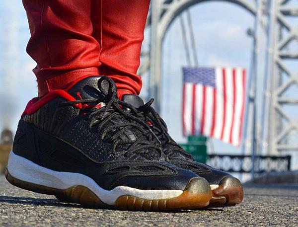 Air Jordan 11 IE Low Black Red - Britta_ruth920
