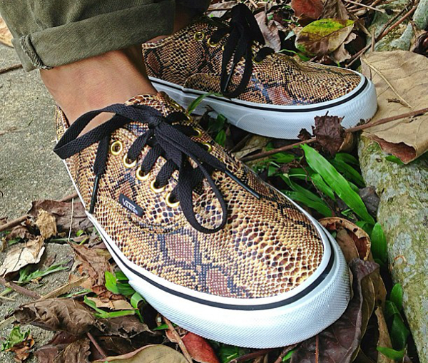 Vans Authentic snake - Cacal