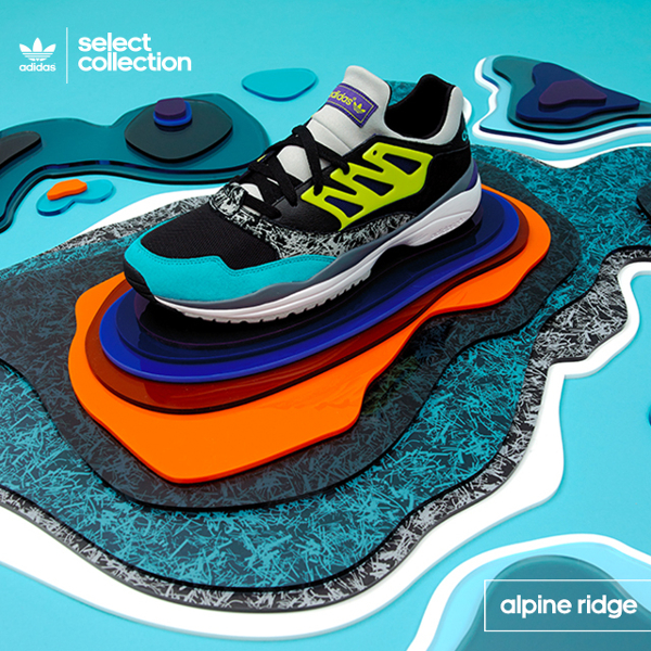 Adidas Originals Allegra Torsion Alpine Ridge