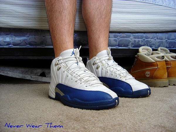 air-jordan-12-french-blue-Never Wear Them