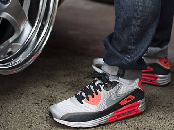 d48bccae6db12 ... authentic nike air max lunar90 infrared wheatjd 808e6 35da6