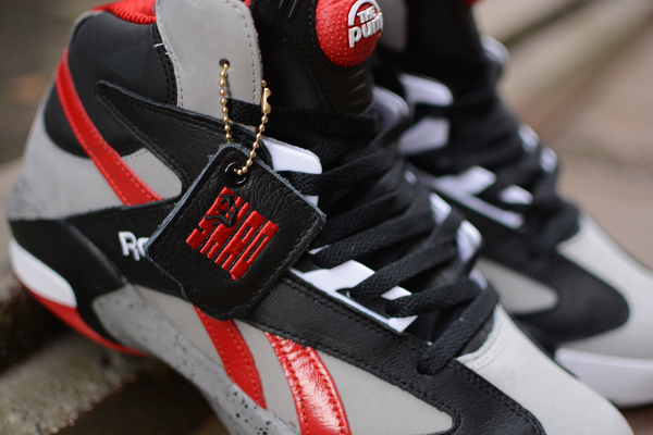 Reebok Pump Shaq Attaq Grey/Black/Red