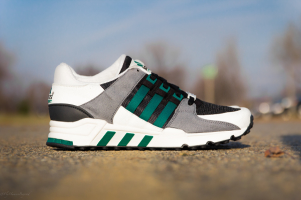 Adidas Equipment Support Black-Green-1