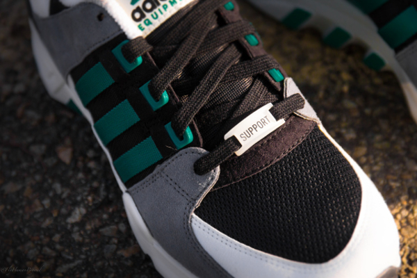 Adidas Equipment Support Black-Green-2