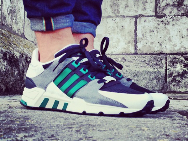 Adidas Equipment Support Black-Green-5