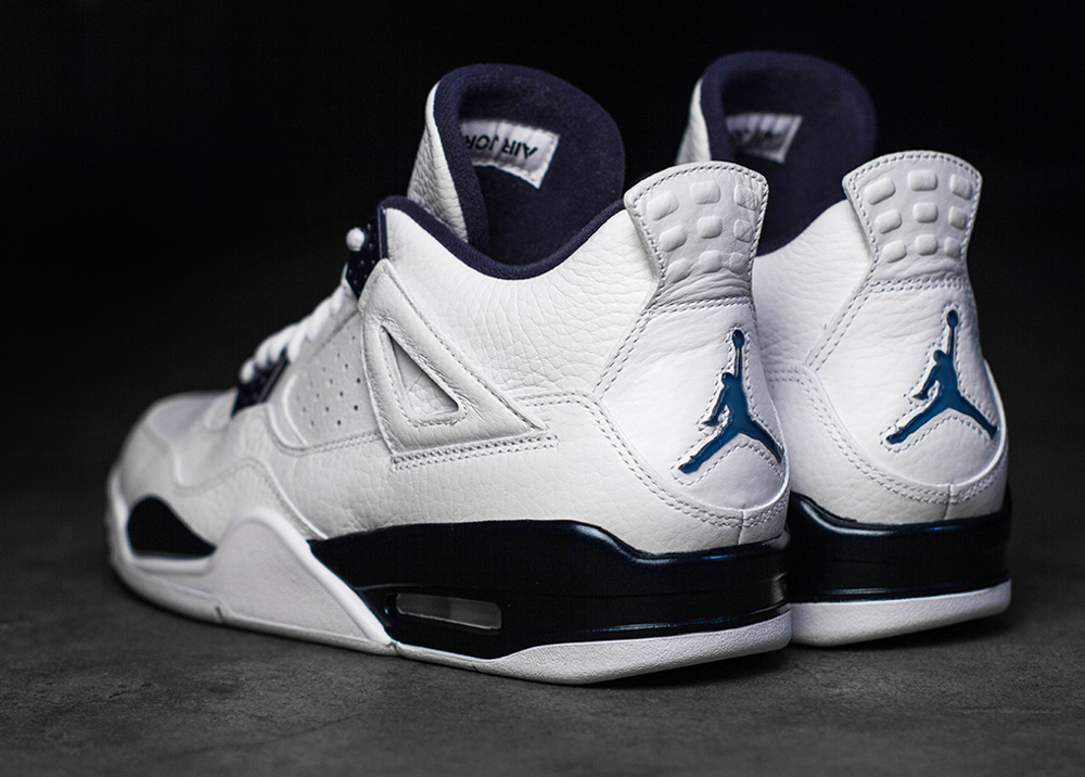 Air Jordan 4 Columbia Retro 2015 joli cliche (4)