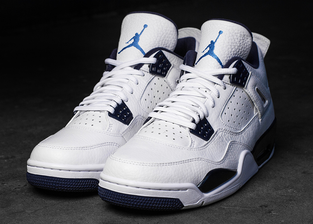 Air Jordan 4 Columbia Retro 2015 joli cliche (5)