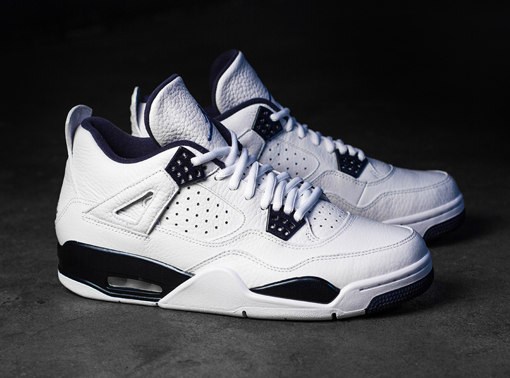 Air Jordan 4 Columbia Retro 2015 joli cliche (7)