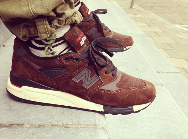 New Balance 998 Brown - Pyrophilly