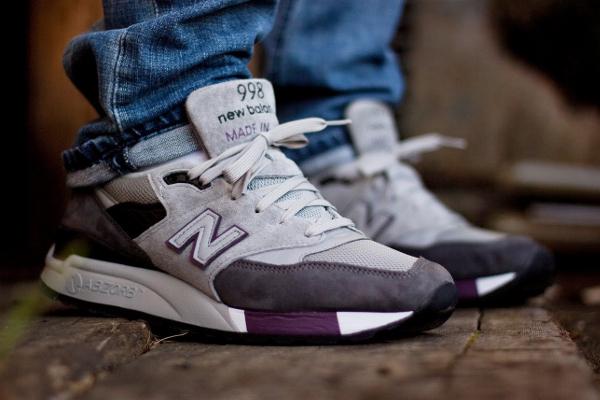 New Balance 998 Charcoal Grey - Shoetown50