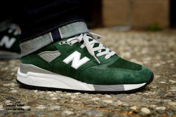 New Balance 998 Forest Green - Verse001