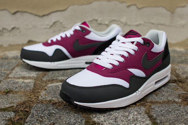 Nike Air Max 1 Essential White Grey Magenta-2