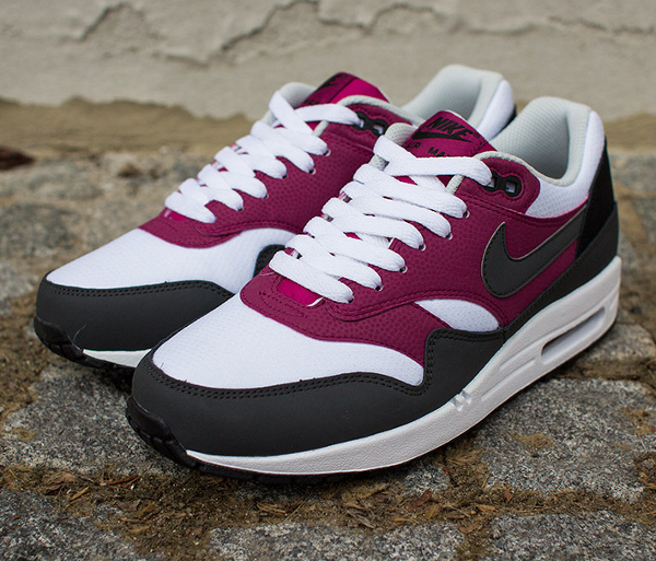 Nike Air Max 1 Essential White Grey Magenta-3
