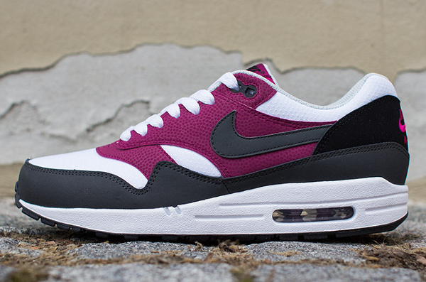 Nike Air Max 1 Essential White Grey Magenta-4