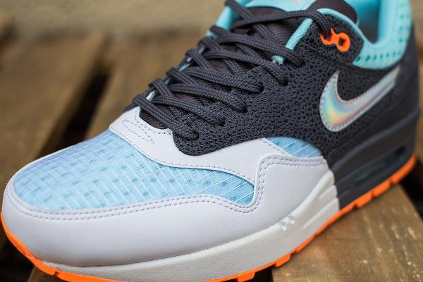 Nike Air Max 1 White Grey Blue (3)