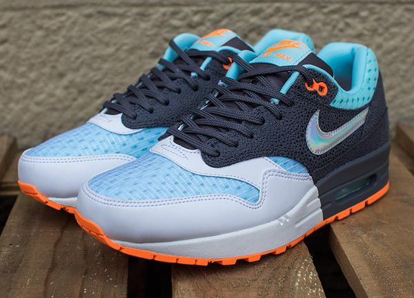 Nike Air Max 1 White Grey Blue (6)