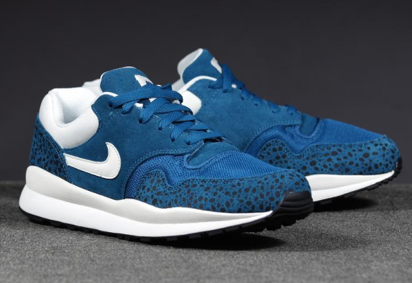 Nike Air Safari Leather Blue-1