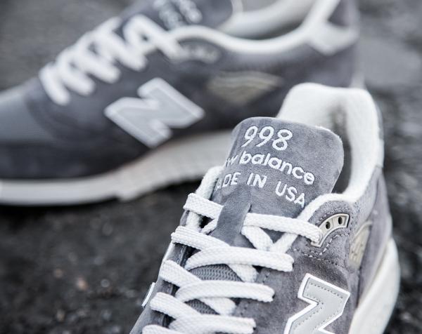 new balance 998 femme grise