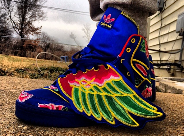 Adidas Originals JS Wings Chinese New Year - Nwnl