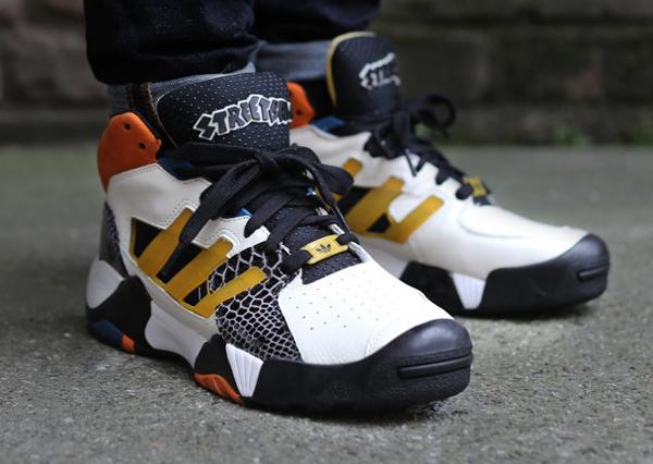 Adidas Streetball Chalk Tribe Yellow Black (2)