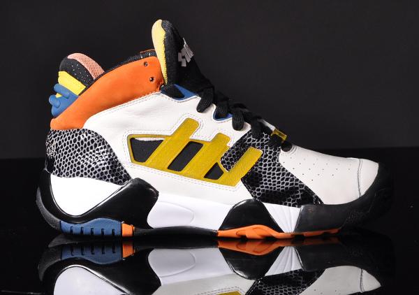 Adidas Streetball Chalk Tribe Yellow Black (3)