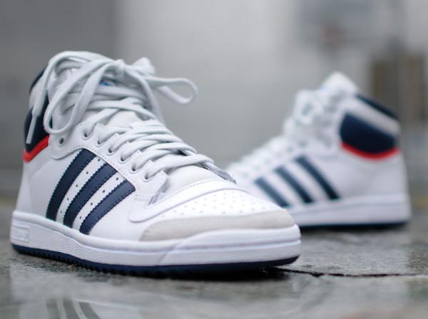Où acheter la Adidas Top Ten Hi OG WhiteNavy 2014 ?
