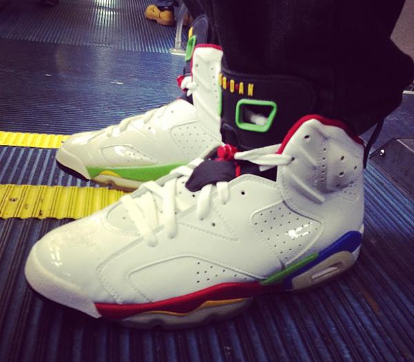 Air Jordan 6 Beijing Olympic -Itshaiiiiii