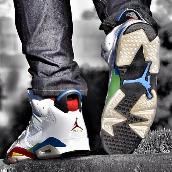 Air Jordan 6 Beijing Olympic - Royjones