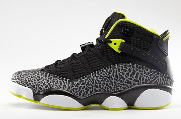 Air Jordan 6 Rings Venom Green (2)