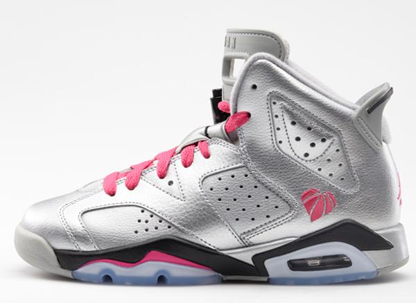 Air Jordan 6 Saint Valentin femme