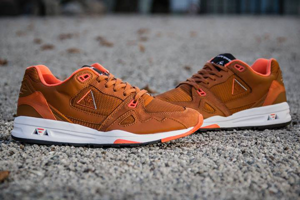 Le Coq Sportif LCS R1000 Leather Brown (3)