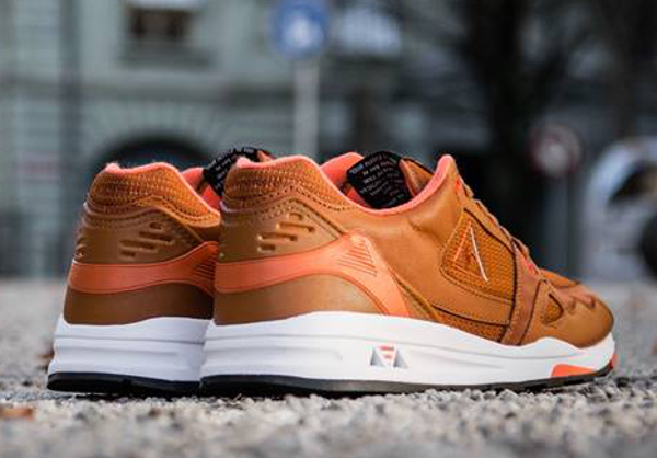 Le Coq Sportif LCS R1000 Leather Brown (4)
