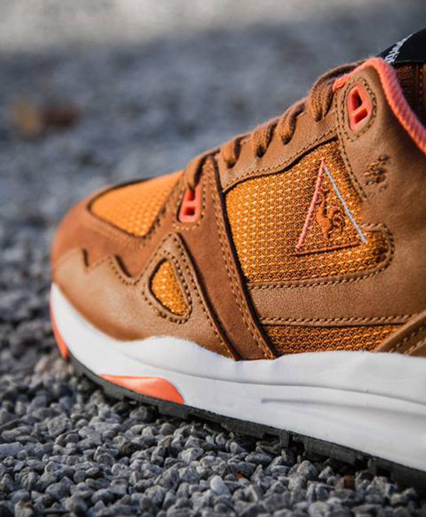 Le Coq Sportif LCS R1000 Leather Brown (5)