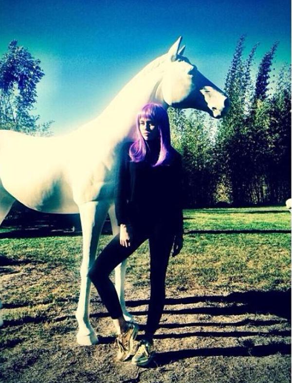 Miley Cyrus - Nike Air Max 1 Liquid Metal
